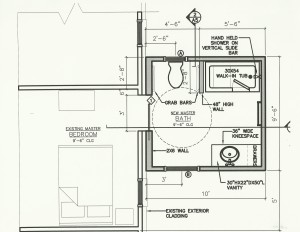 Handicap Bathroom Addition In Jacksonville on rv home plans