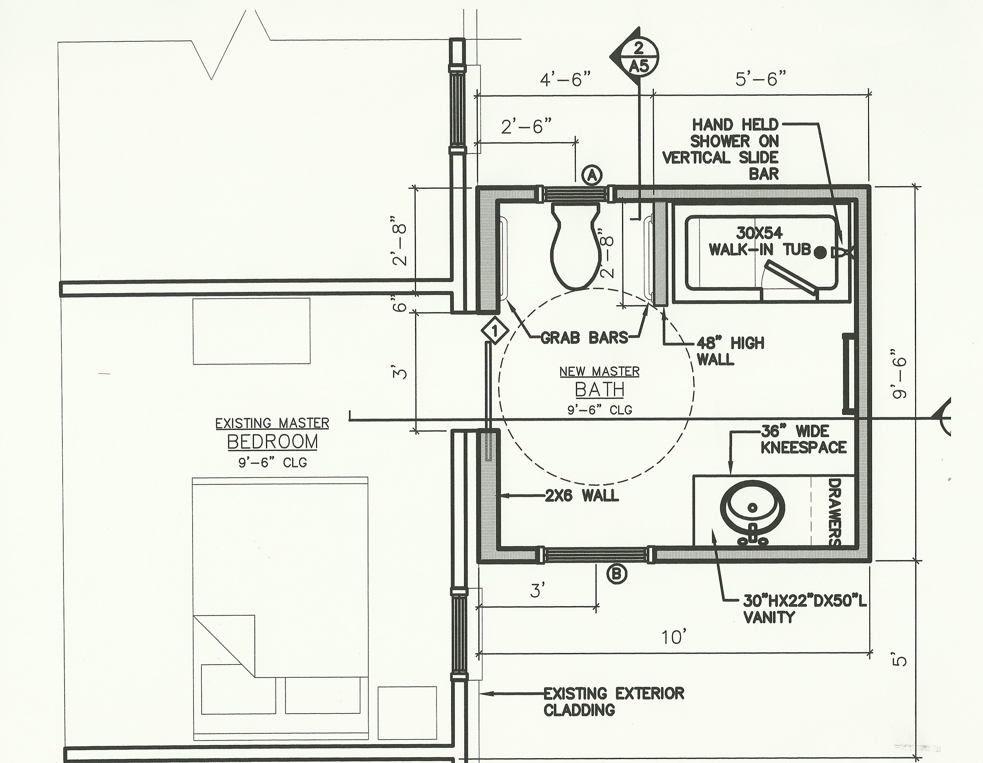 Webb floor plan home sweet accessible home for Ada bathroom floor plans