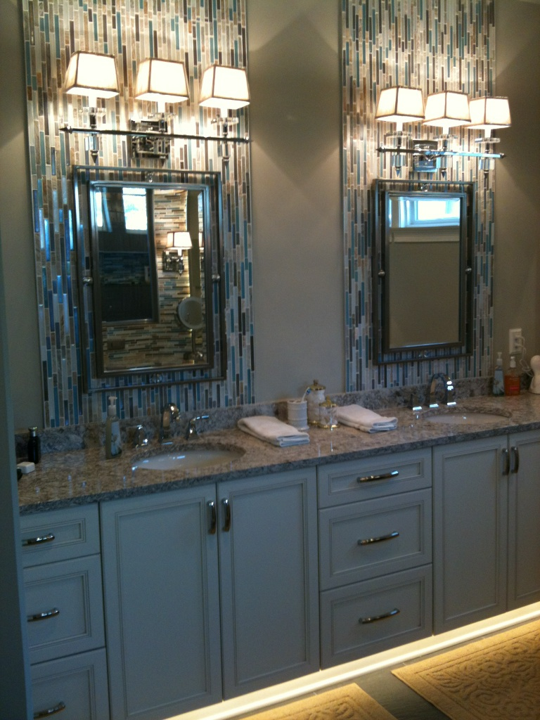 After the new vanity area home sweet accessible home for Bathroom remodelers in my area