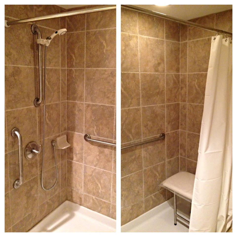 Tub Grab Bar Location home sweet accessible home | accesible ramps, grab bars, remodeling
